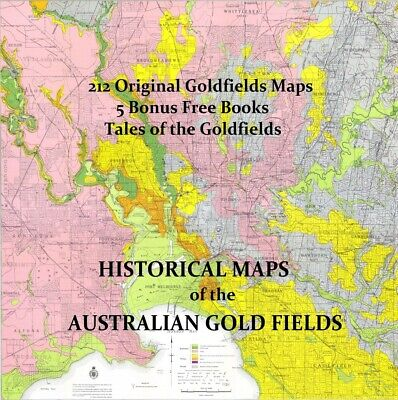 212 Historical Australian Goldfields Maps