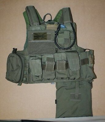 Flyye Force Recon vest with pouches - green - excellent condition & quality