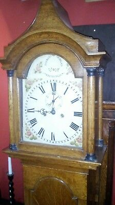 Longcase Grandfather Clock, Thomas Morgan Edinburgh, c. 1780, Scottish, Oak