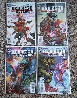 Red Hood and the Outlaws (2011) 1 2 3 4 Batman New 52