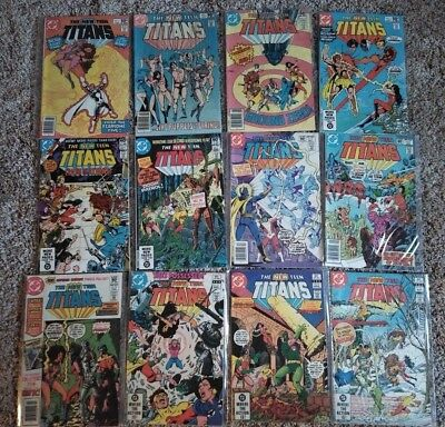 New Teen Titans (1980) 3 9 10 11 12 13 14 15 16 17 18 19