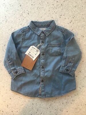 Zara Baby Boy Denim Shirt
