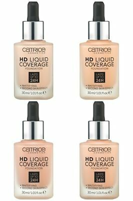 Catrice HD Liquid Coverage Foundation All Shades UK STOCK 100% GENUINE & SEALED