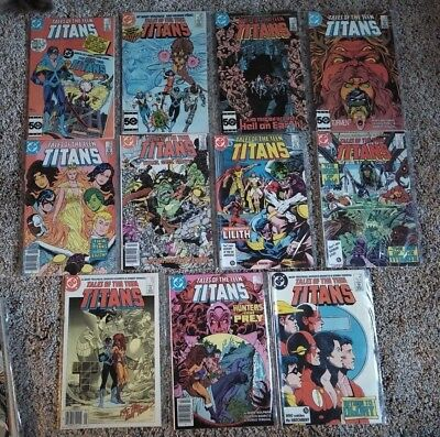 Tales of the Teen Titans (1980) 59 60 62 63 66 67 68 70 73 74 79 81 Annual 1 2