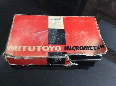 "Vintage Mitutoyo 0 - 1"" Micrometer in Excellent Used Condition"