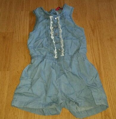 Gorgous blue YOUNG DIMENSIONS dungerees playsuit age 2 3 Years