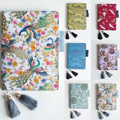 2019 Japanese Fabric Antique Cover Refillable Notebook Cover Bullet Journal