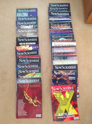 NEW SCIENTIST MAGAZINE COLLECTION 53 editions from 21 Sept 1996 to 27 Sept 1997