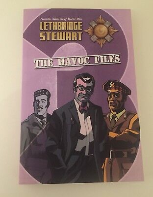 LETHBRIDGE STEWART THE HAVOC FILES 3 Brand New Paperback