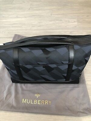 Mulberry Camo Dazzle Mens Ladies Large Holdall BNWT Guaranteed 100% Genuine