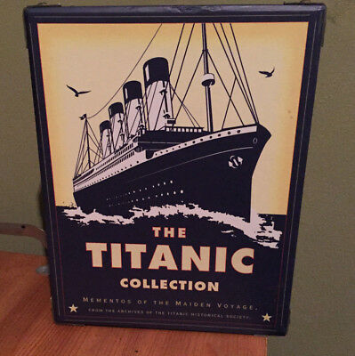 The Titanic Collection Mementos Of The Maiden Voyage 1998! Ships Nov 21