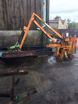McConnel PA25 Hedge Cutter tractor mounted hedge trimmer