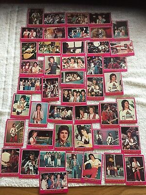 Bay City Rollers Trading cards from the 70s