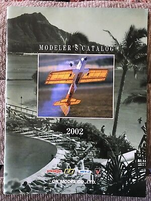 OK Model Company Catalog EZ Pilot  2002 Vintage RC Airplane