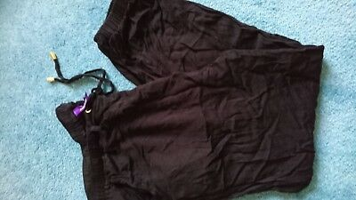 Seraphine 14 maternity casual soft black joggers trousers EUC