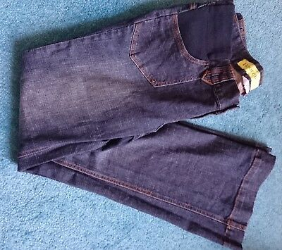 Red Herring maternity bootcut jeans blue 12 EUC