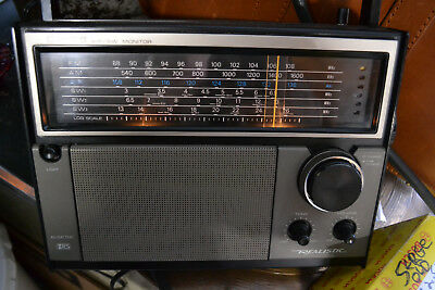 Realistic DX-66 AM/FM Air SW 6 Band radio receiver - Model 12-767 - TESTED WORKS