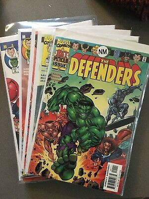 Defenders Vol 2 # 1-12--Complete Series--Kurt Busiek,Erik Larsen--2001--VF