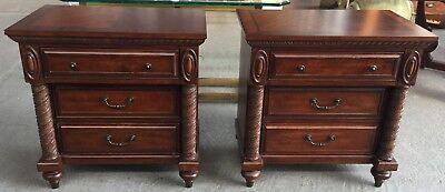Pair of Neoclassical Style Nightstands