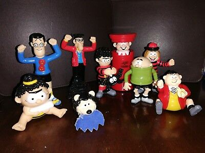 Bundle Of DC Thompson BEANO Comics wind up figures