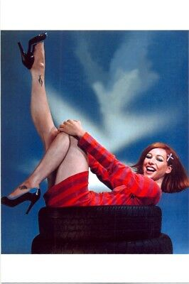 Alyson Hannigan - In A Mini Dress While Kicking Her Legs In The Air !!!