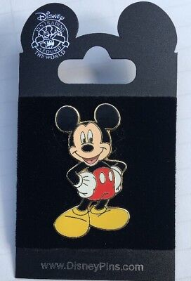 Disney World WDW Trading Pin MICKEY MOUSE - NEW On Card NOC