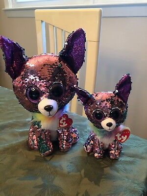 24df6843777 Flippables Yappy TY Beanie Boos Sequin - 6