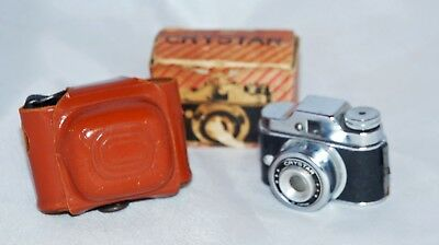 Crystar Baby Camera with Box and case.