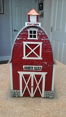 Original Cookie Jar  Red Barn 2000 ~ Musical Theme From Green Acres