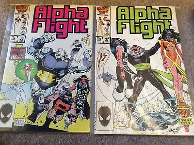 Alpha Flight - Issues 36 to 70