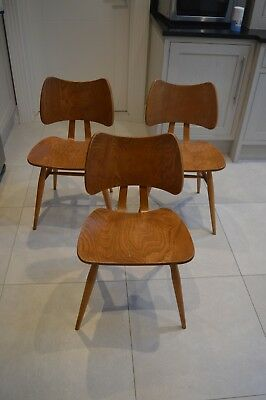 3 Ercol Butterfly Chairs