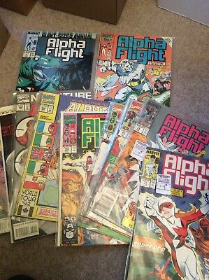 Alpha Flight - Various Issues And 2 Annuals (100, 130 & More)
