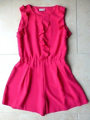 Girls Pink Playsuit from Next Age 11 Years