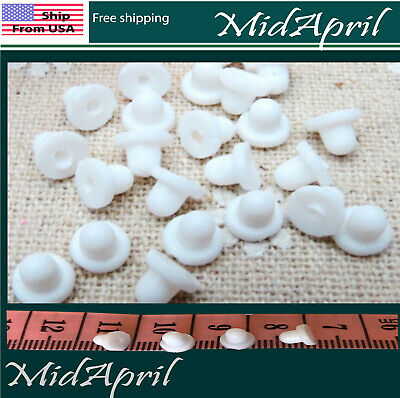 Rubber Cushion Pads Clip On Earring Super Soft Silicone  DIY Ear