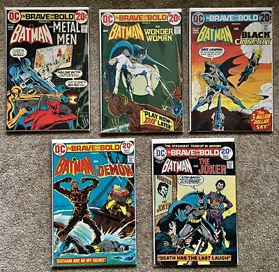 The Brave and the Bold-Consecutive Lot of 9 (#103 - #111) VF+/NM