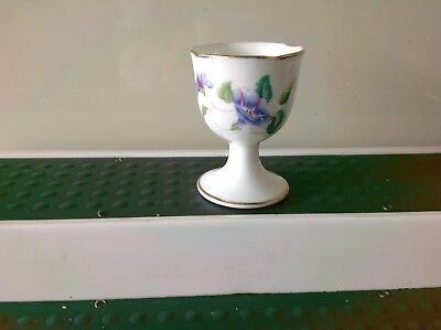 Vintage China Egg Cup By Crescent &Sons