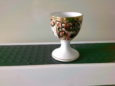 Vintage china Egg Cup In The Imari Style.