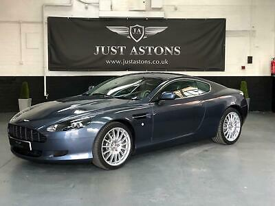 2005 Aston Martin DB9 5.9 Coupe Slate Blue 1 Owner