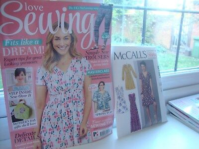 Love sewing magazine issue 37  with McCalls M7381