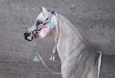 Pink Pastel Oriental Halter for Breyer & Peter Stone Arabian Model Horses - PPD