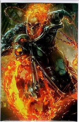 Marvel Comics COSMIC GHOST RIDER #4 RON LIM BATTLE LINES VARIANT COVER VIRGIN