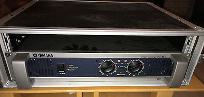 Endstufe PA Yamaha P5000S; 2x750 W an 4 Ohm; mit Case