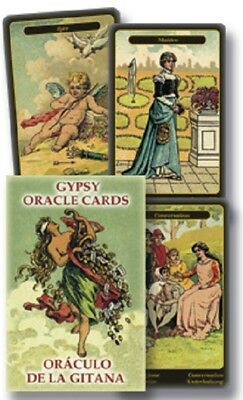 Gypsy Oracle Deck Card Lenormand Cartomacy Magick Great training deck 52 Cards