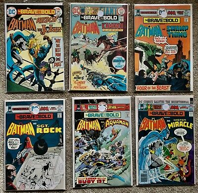 The Brave and the Bold- Consecutive Run of 21 (#118-#138) VF+/NM