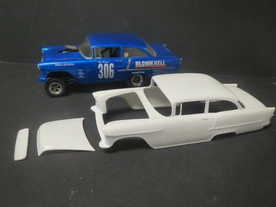 New!! 55' Chevy AWB Blown Hell 1/25 Resin Body from Fremont Racing Specialties