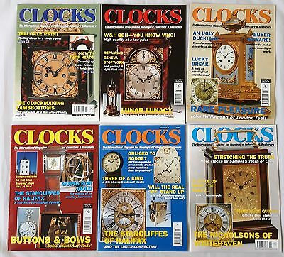 CLOCKS MAGAZINES -  1999 - Twelve copies - Jan to Dec.
