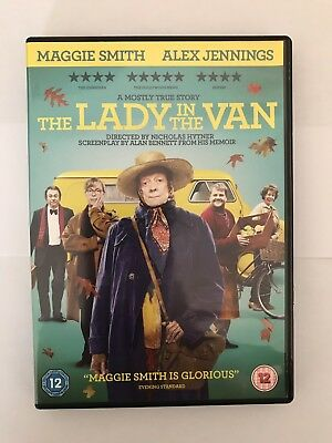 The Lady In The Van DVD (2015) Maggie Smith, Alex Jennings