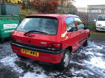 Renault Clio restoration project