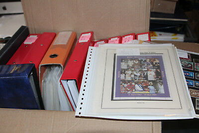 Heavy Box With 13 Collections Sold As One Large Lot - Mint And Used All Eras
