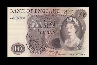 "1970-75 BANK OF ENGLAND QEII 5 POUNDS ""Page"" Replacement Prefix **M** (( EF+ ))"